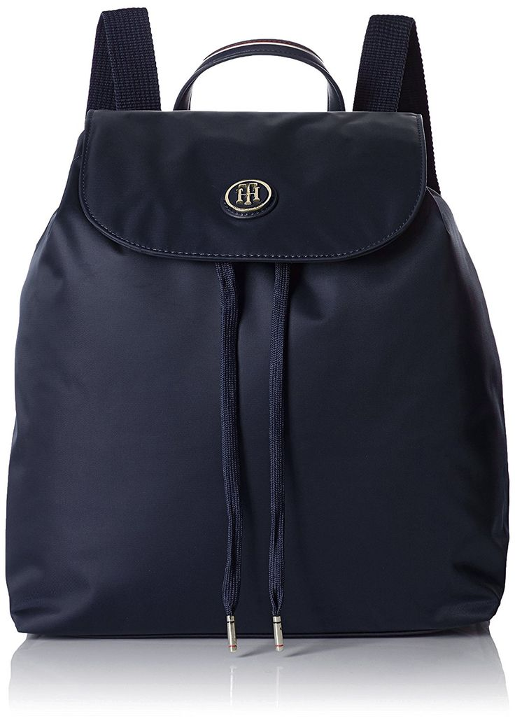 Tommy Hilfiger Damen Poppy Backpack Rucksackhandtaschen, Blau (Midnight 001 001), 29x36x15 cm: Amazon.de: Schuhe & Handtaschen