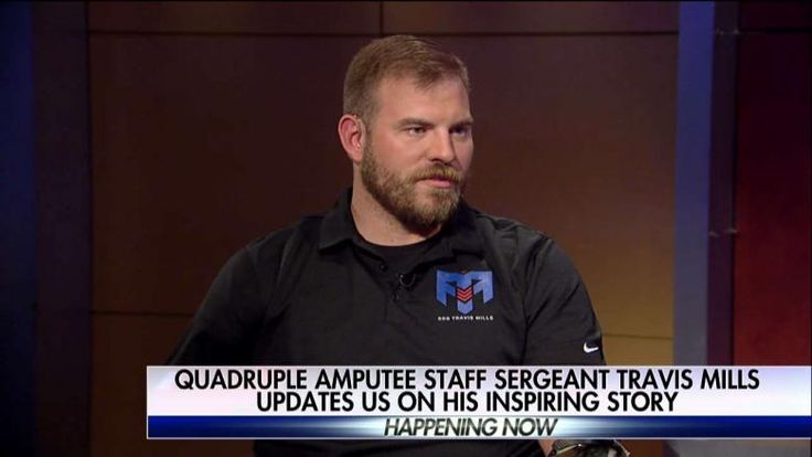 "Staff Sergeant Travis Mills, who lost all four limbs after an IED exploded on his third deployment to Afghanistan in 2012, joined Jenna Lee on ""Happening Now"" today to give an update on his inspiring story."