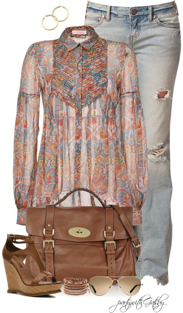 """""""Boho"""" by partywithgatsby ❤ liked on Polyvore"""