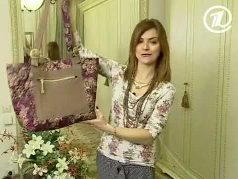 Ольга Никишичева. Сумка из обрезков