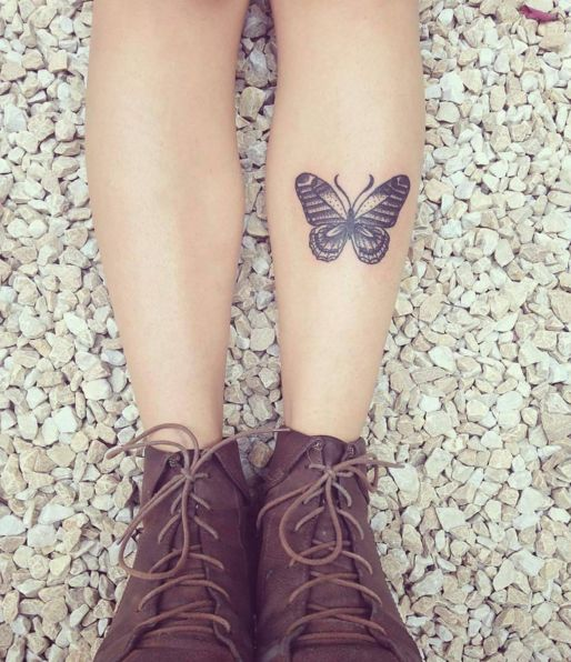 small butterfly tattoo #Ink #youqueen #girly #tattoos #butterfly @youqueen