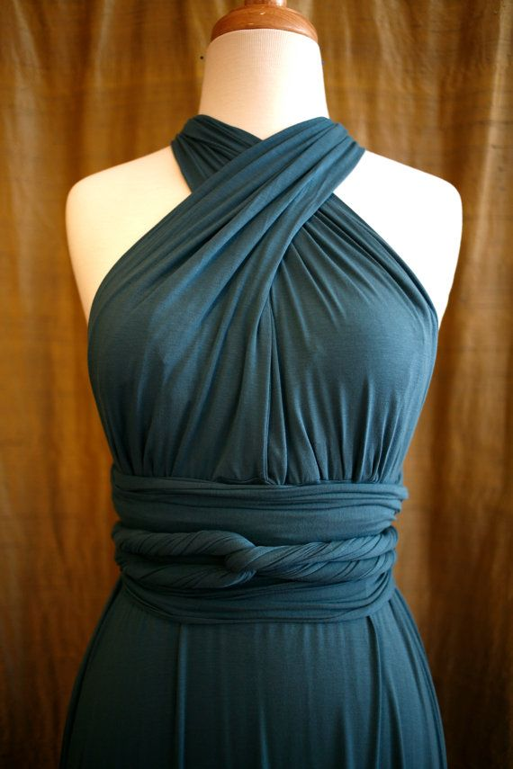 bamboo twist and wrap dress by angieell on Etsy, $120.00