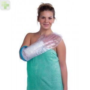 Te has caído y te has roto un hueso... Te han escayolado... Y ahora como te duchas??? http://www.descuentosparafarmacia.es/cubre-escayola-viadol-adolescente-pierna.html