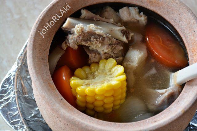 Famous Congee 飞粥 in Johor Bahru, Sutera Utama