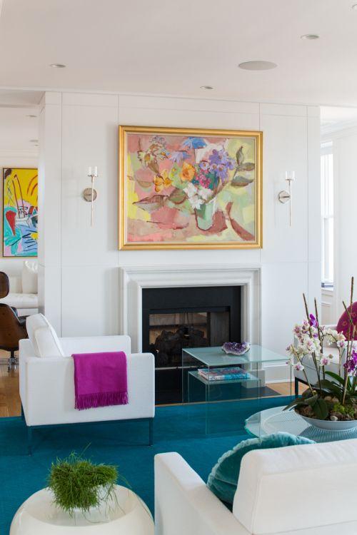 Boston Apartment Beautiful Use Of Colors