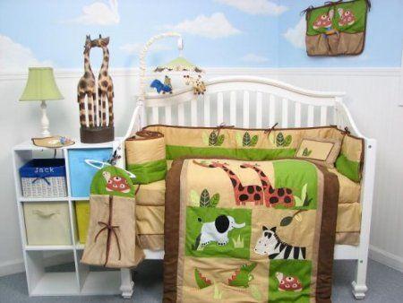 Mejores 13 imágenes de Zoo Animal Nursery en Pinterest   Cuarto de ...
