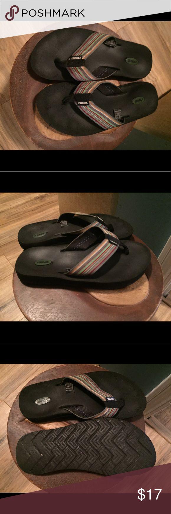 Teva Flip Flops Teva Flip Flops. Used but still has a lot of life left Teva Shoes Sandals
