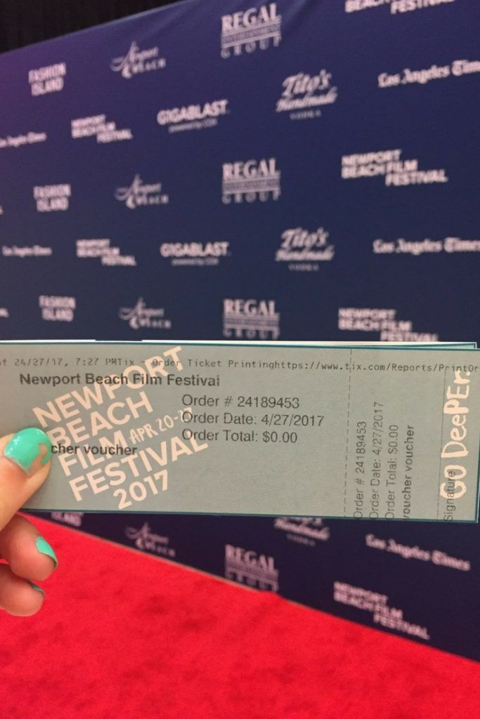 Screening Devil's Gate movie at the Newport Beach Film Festival