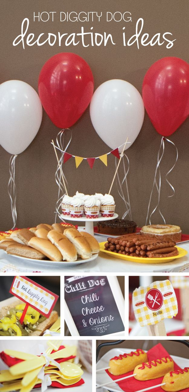 Hot Diggity Dog Party Ideas | Summer Party Supplies from BigDotOfHappiness.com