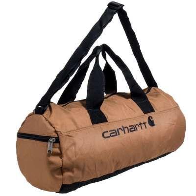Carhartt Bags: Packable H14 8922323 002 Brown Duffel Bag