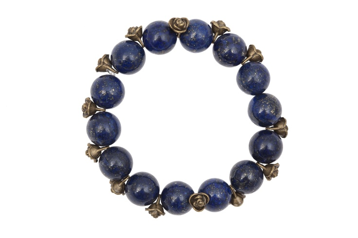 """Chic Victim » Brățară Lapis Lazuli: """"Queen for a day"""""""