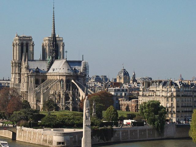 Notre Dame de Paris - Crédit photo Dalbera