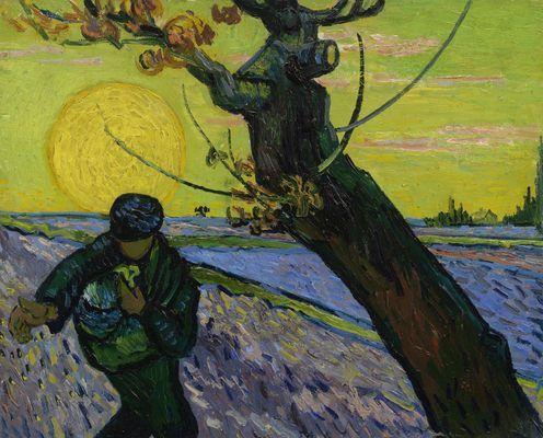 Le semeur, par Vincent Van Gogh
