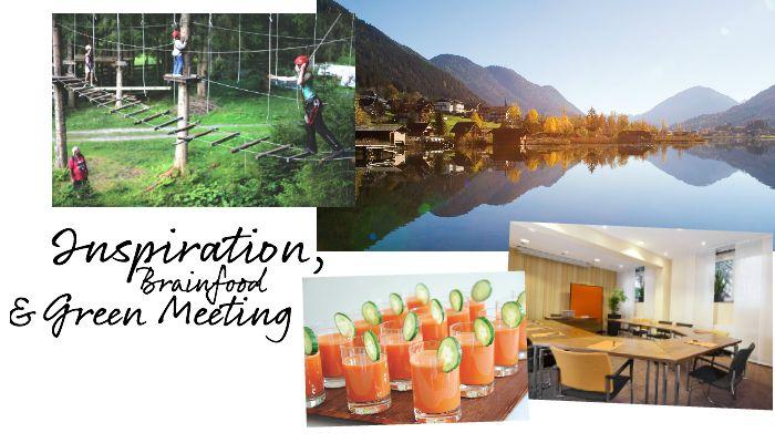 Die Hotels bieten Räumlichkeiten und Ausstattung für Green Meetings und unterstützen kompetent bei Planung und Organisation der Veranstaltung – natürlich biologisch, nachhaltig und ökologisch