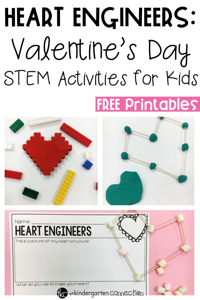 Your students will become engineers with these hands-on Valentine's Day STEM activities that can be used in math, science, or a class Valentine's Day party!