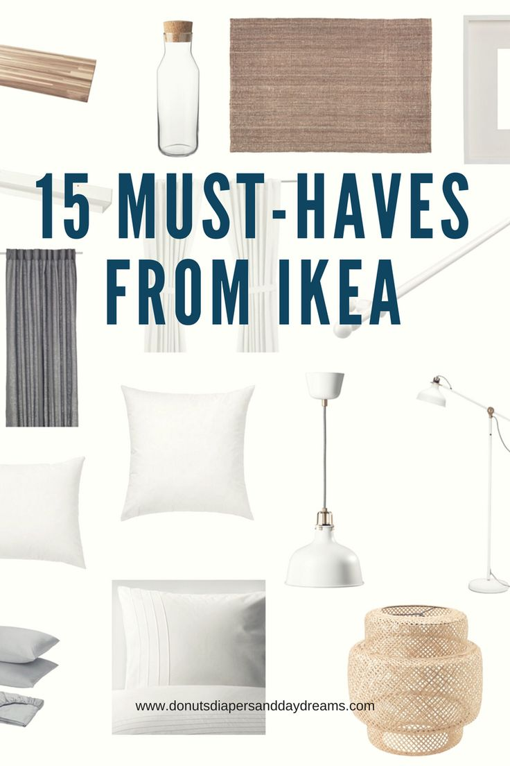15 Must-Haves from Ikea