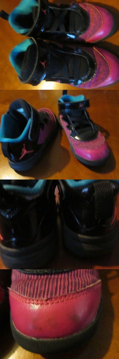 Michael Jordan Baby Clothing: Michael Jordan Sneakers Pink Black 10C 10 Child BUY IT NOW ONLY: $19.0