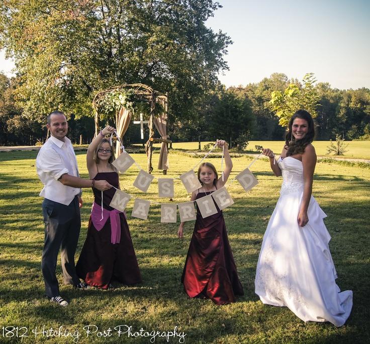 Just married wedding ideas pinterest for Just married dekoration