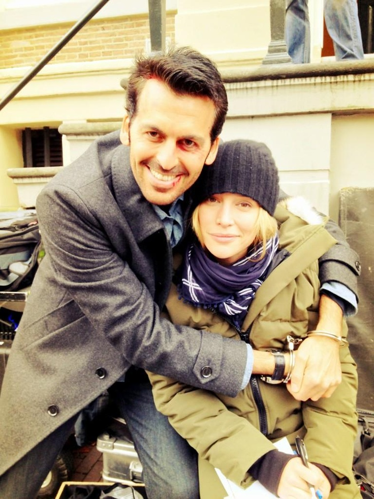 Eyal and Annie. Eyal always comes to the rescue. I wonder what he will do in season 5. #CovertAffairsSweepsEntry