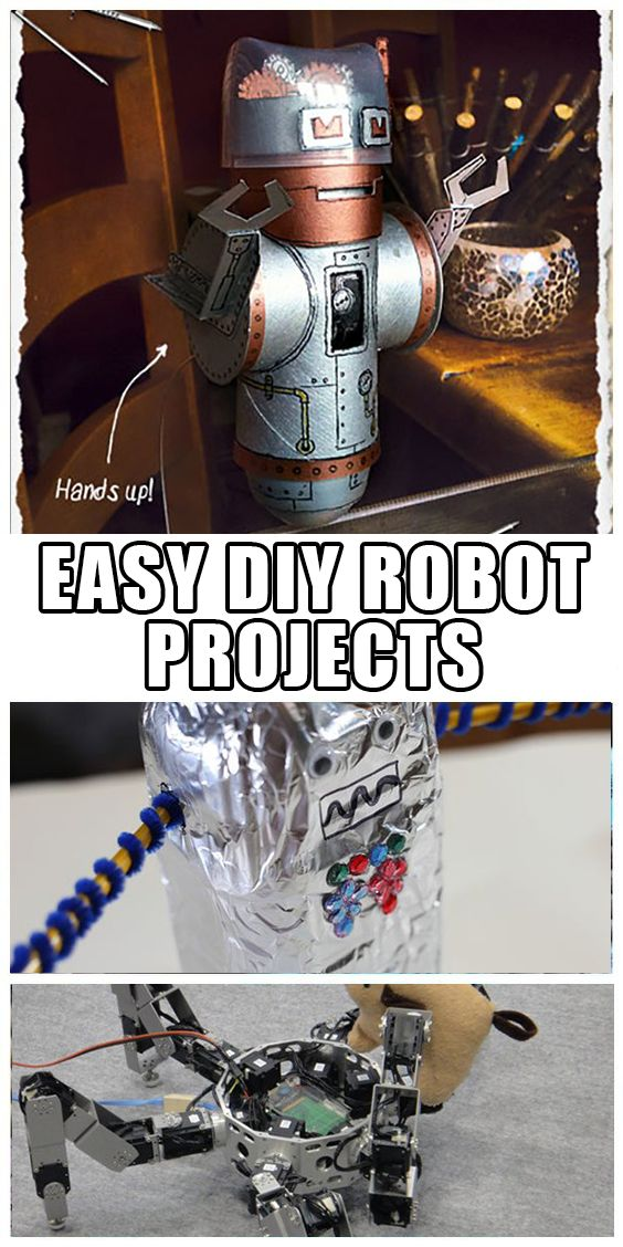 Spend your weekend with your kids making robots