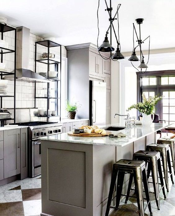 13 best Moderne Kücheninsel images on Pinterest | Contemporary ...