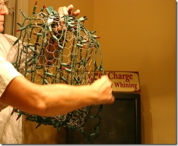 7 Best Chicken Wire Balls Images On Pinterest Christmas