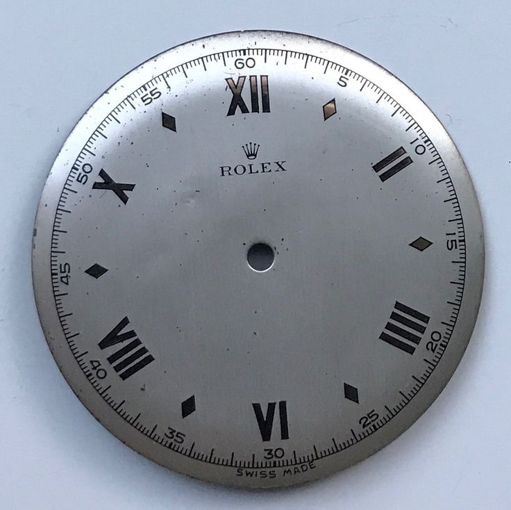 #Forsale Vintage Original #Rolex Steel Large Size Precision Dial Only #Auction @$263.00