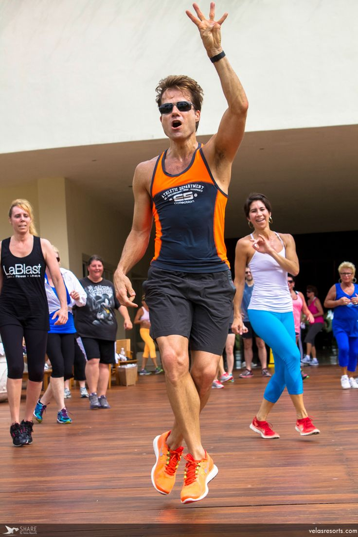 Unique fitness experience with celebrity Dancing with the Stars @LouisVanAmstel