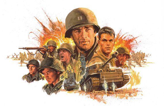Ahorro privado Ryan Poster, ahorro privado Ryan Movie Poster, cartel de la película de Tom Hanks, Poster de Tom Hanks, Matt Damon cartel, WW2 Poster