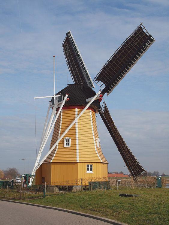 Flour mill De Hoop, Sint Philipsland, the Netherlands