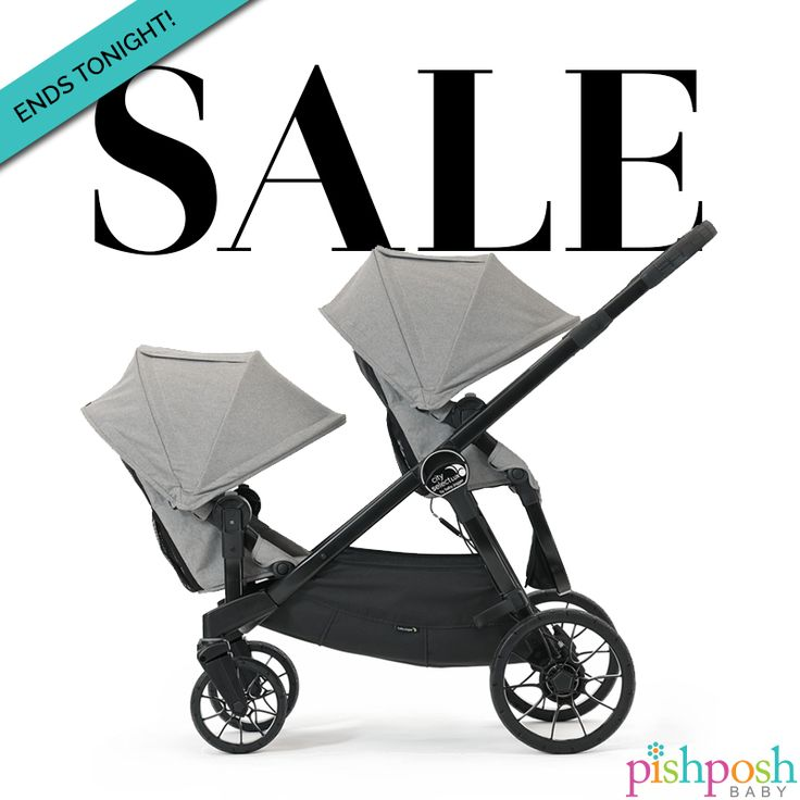 Don't miss Baby Jogger's sale - ends tonight! Save on City Select and City Select LUX strollers. Hurry!  http://www.pishposhbaby.com/baby-jogger.html
