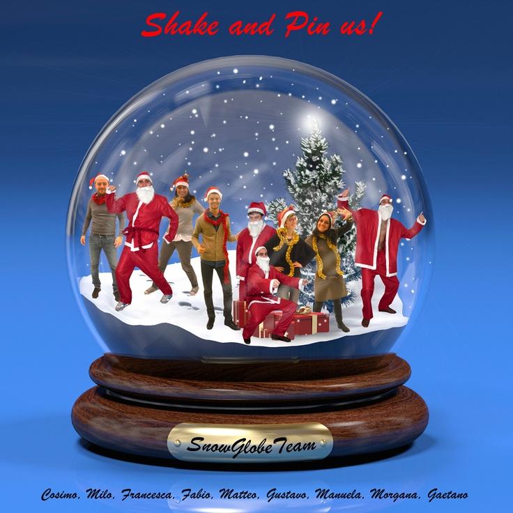SNOWGLOBE TEAM - Shake and pin us!
