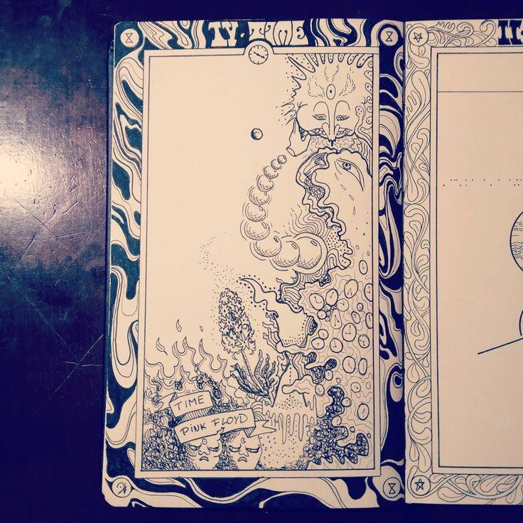 #Artnestoltes Day IV - Time  #sketchbook #illustration #ink #time #challenge #drawing #traditionalart #psychedelic #psychedelicart #lsd #420 #dmt #NowPlaying #PinkFloyd