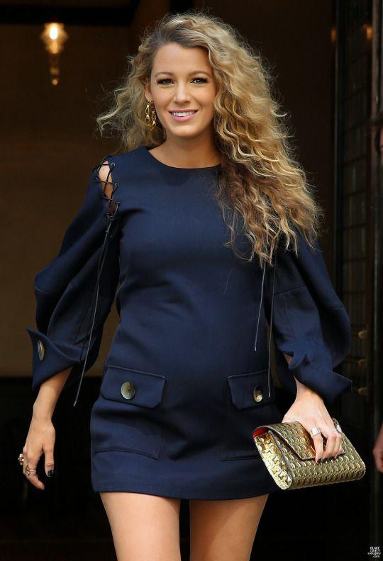 Embaraza y guapísima