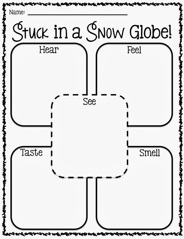 stuck in a snow globe writing