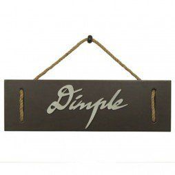 Dimple - Name Plate