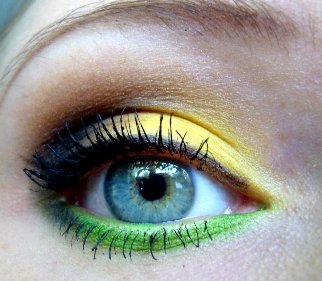 tylkokasia bloguje ...: Kolejny wiosenny makijaż + video tutorial