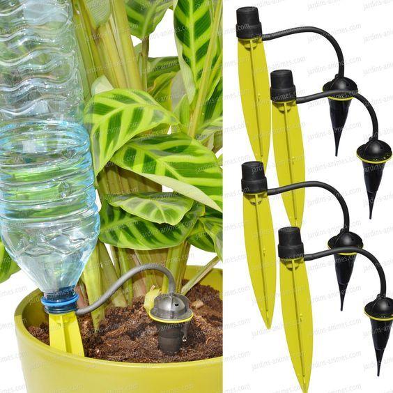 Arrosage automatique iriso goutte a goutte individuel x4 jardin et plantes arrosage - Arrosage automatique jardin goutte a goutte ...