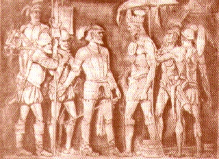 October 18, 1540: The largest Indian battle in North America occurs at the village of Mabila (or Mauvila) between Hernando de Soto's Spaniards and Chief Tuscaloosa's (or Tascaluza's) warriors. Accounts vary, but most agree that the Indian village and most of its more than 2,000 inhabitants were destroyed. The exact location of this battle has eluded researchers for centuries.