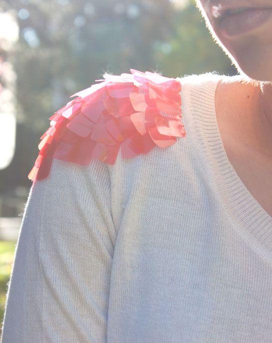 DIY jelly sweater