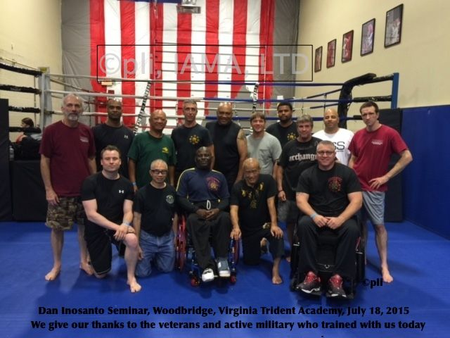 Active Military & Veterans – Virginia – July 2015 — Inosanto Academy