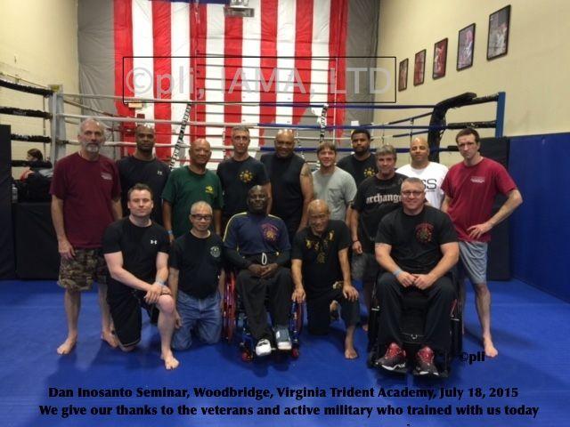 Active Military & Veterans – Virginia – July 2015 — Inosanto Academy