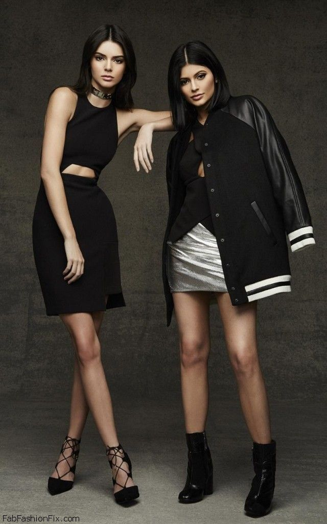 Kendall & Kylie's 2015 Christmas Collection for Topshop. #topshop #kyliejenner #kendalljenner