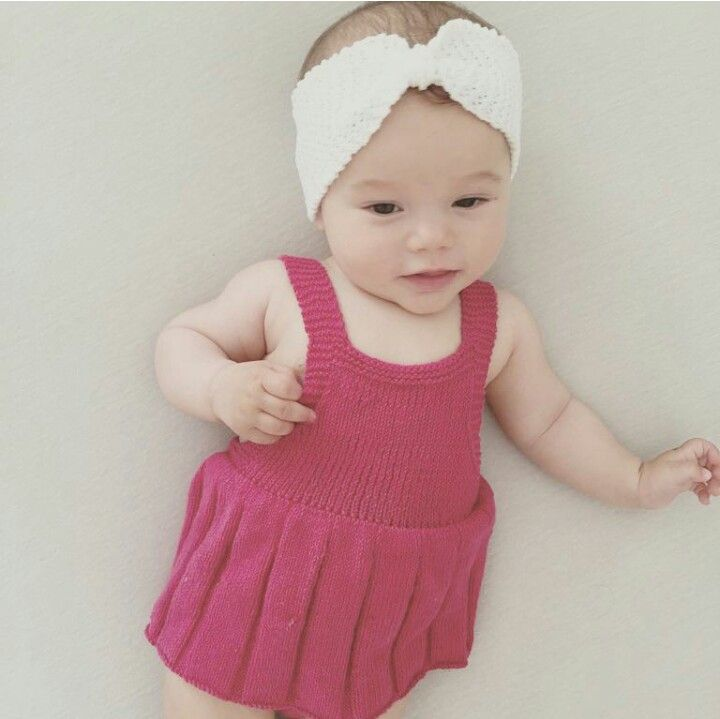 Knit newborn tutu dress. Vestitino neonato tutu
