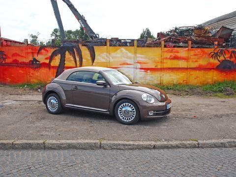 VW Beetle Cabrio: Schluckspecht mit Charme - SPIEGEL ONLINE - Nachrichten - Auto