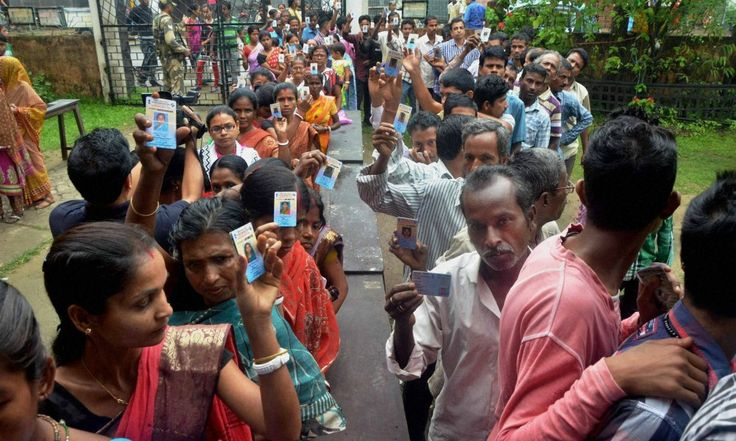 More than 90 percent turn around in #AssamElections #Election2016