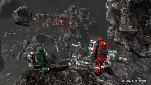 Space Engineers on Steam - a game about extraterrestrial resources, mining, survival, and exploration!