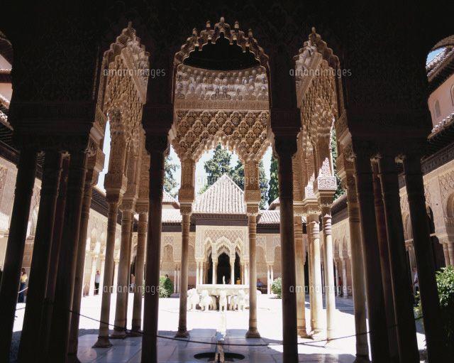 アルハンブラ宮殿 ライオン パティオ - Google 検索