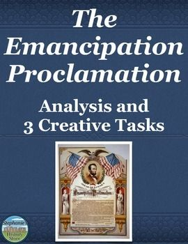 an analysis of lincoln and emancipation Fact #2: the emancipation proclamation only applied to the states in rebellion president lincoln justified the emancipation proclamation as a war measure intended to cripple the confederacy.