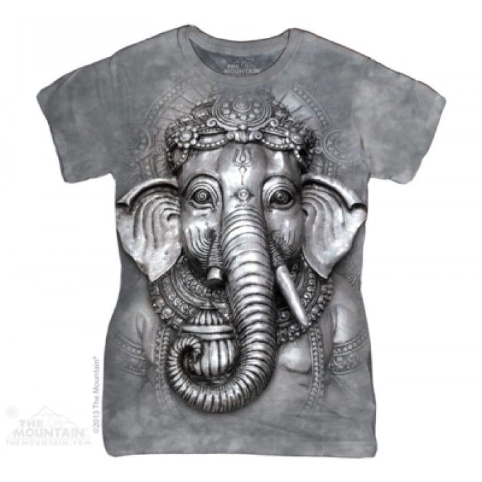 Tricouri The Mountain – Tricou dama Big Face Ganesh